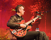 Richard Hawley <br /> performing live at The HMV Forum, Kentish Town, London, Great Britain <br /> 8th June 2012 <br /> <br /> Photograph by Elliott Franks <br /> <br /> Richard Willis Hawley (born 17 January 1967, Sheffield, England) is an English guitarist, singer-songwriter and producer. After his first band Treebound Story (formed while he was still at school) broke up, Hawley found success as a member of Britpop band Longpigs in the 1990s. After that group broke up in 2000, he later joined the band Pulp, led by his friend Jarvis Cocker, for a short time. As a solo musician, Hawley has released seven studio albums.