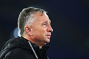 Cluj head coach Dan Petrescu reacts during the UEFA Europa League, Group E football match between SS Lazio and CFR Cluj on November 28, 2019 at Stadio Olimpico in Rome, Italy - Photo Federico Proietti / ProSportsImages / DPPI