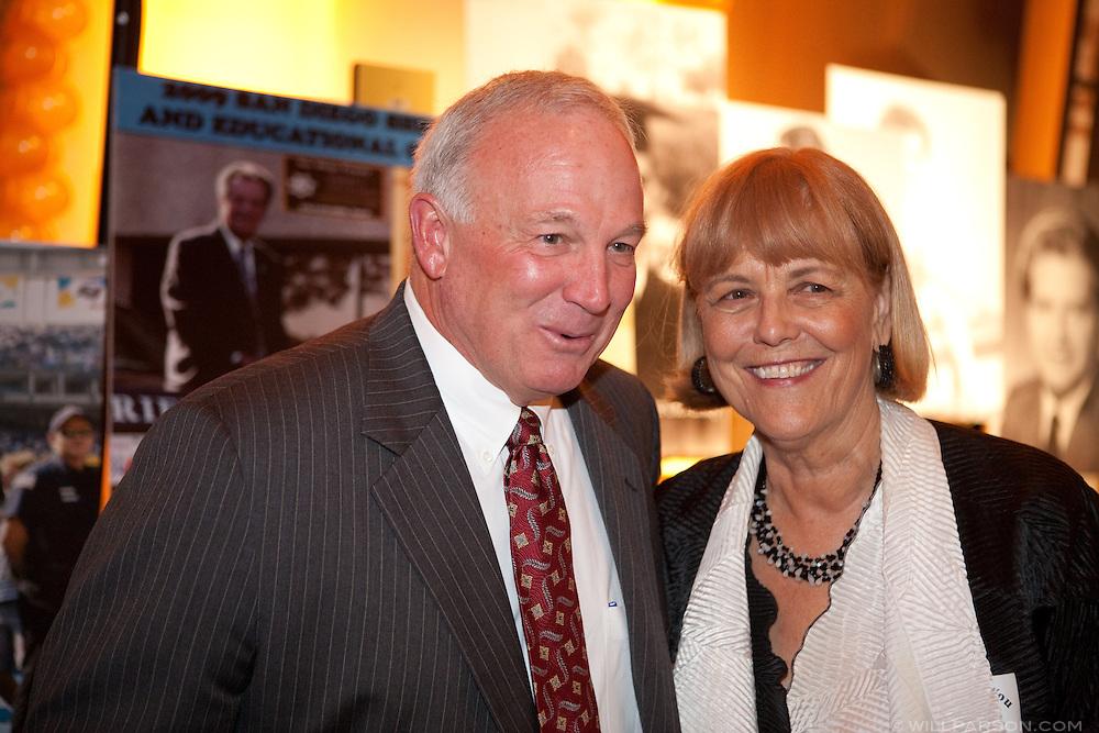 Mayor Jerry Sanders and Karolyn Dorsee