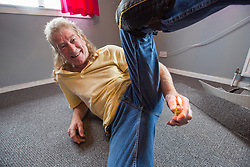 Ex-Bay City Roller Alan Dunn, now a carpet fitter in Dundee, whose initiation into the group was lighting his own farts.