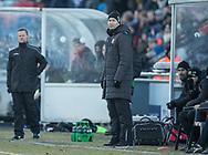 FODBOLD: Cheftræner Kasper Hjulmand (FC Nordsjælland) på sidelinien under kampen i ALKA Superligaen mellem FC Helsingør og FC Nordsjælland den 18. marts 2018 på Helsingør Stadion. Foto: Claus Birch.
