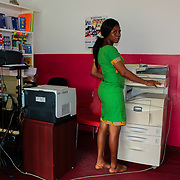 At the Office by Florence Ama Geyevu