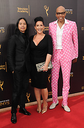 RuPaul bei der Ankunft zur Verleihung der Creative Arts Emmy Awards in Los Angeles / 110916 <br /> <br /> *** Arrivals at the Creative Arts Emmy Awards in Los Angeles, September 11, 2016 ***