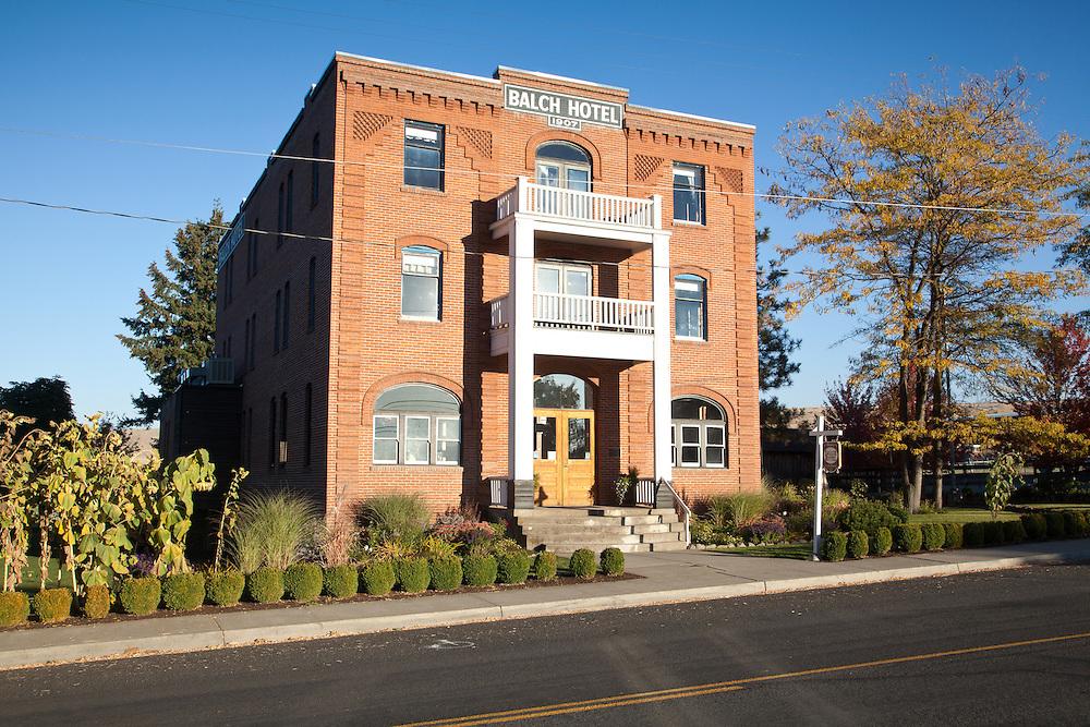 The historic Balch Hotel, Dufur, Oregon.
