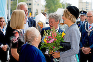Koningin Máxima woont zaterdagochtend 10 oktober in het Beatrix Theater in Utrecht de Landelijke Huu