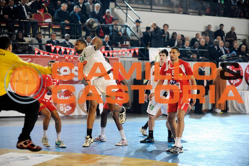 DESCRIZIONE : Hand Coupe Afrique des Nations Homme Maroc Rabat Finale<br /> GIOCATORE : Soudani Rabah<br /> SQUADRA : Algerie<br /> EVENTO : FRANCE Hand CAN<br /> GARA : Algerie Tunisie<br /> DATA :20/01/2012<br /> CATEGORIA : Hand CAN<br /> SPORT : Handball<br /> AUTORE : JF Molliere <br /> Galleria : France Hand 2011-2012 Action<br /> Fotonotizia : CAN Hand RABAT Maroc Demi Finale<br /> Predefinita :