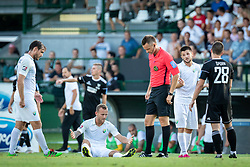 during football match between NS Mura and NK Rudar in 6th Round of 6th Round of Prva liga Telekom Slovenije 2019/20, on Avgust 18, 2019 in Fazanerija, Murska Sobota, Slovenia. Photo by Blaž Weindorfer / Sportida