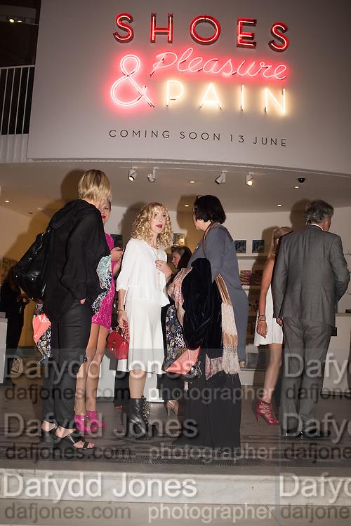 BASIA BRIGGS, Shoes: Pleasure and Pain. V & A Museum. South Kensington, London. 10 June 2015.