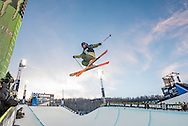 Thomas Krief of France at the Winter X Games in Aspen, Colorado.