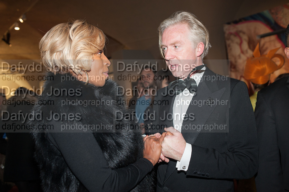 MARY J. BLIGE; PHILIP TREACY, Isabella Blow: Fashion Galore! private view, Somerset House. London. 19 November 2013