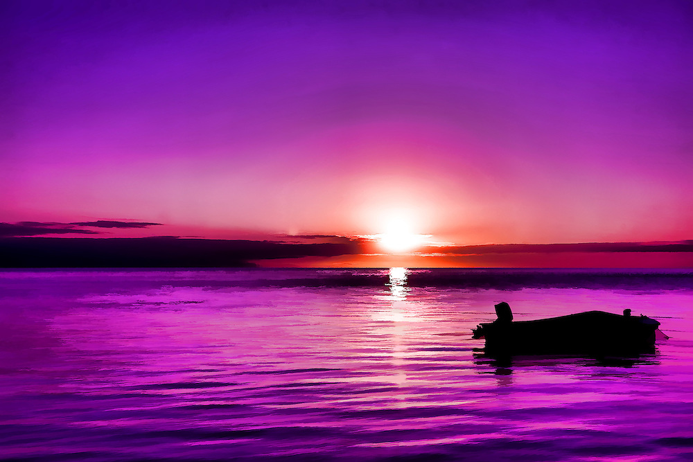 purple water wallpaper