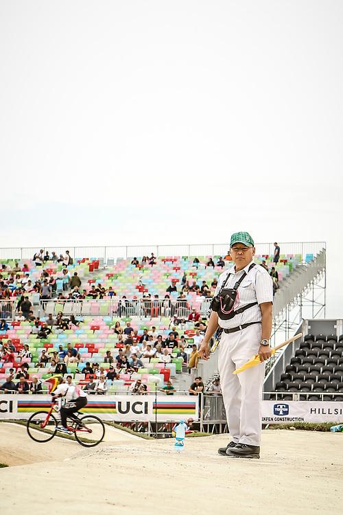 2018 UCI World Championships<br /> Baku, Azerbaijan<br /> Loyal Ma UCI