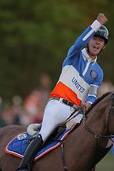 Allen Bertram, (IRL), Romanov<br /> Global Champions League of Hamburg - GCL Team Competition<br /> Hamburg - Hamburger Derby 2016<br /> © Hippo Foto - Stefan Lafrentz