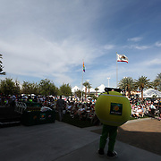 March 4, 2014, Indian Wells, California: <br /> Fans gather to watch the ATP Draw Ceremony for the 2014 BNP Paribas Open at the Indian Wells Tennis Garden. <br /> (Photo by Billie Weiss/BNP Paribas Open)