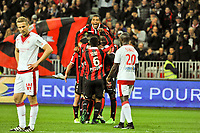 FOOTBALL : OGC Nice vs Bordeaux - Ligue 1 - 02/04/2017<br /> Joie OGC Nice<br /> Norway only
