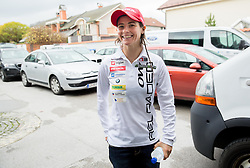 Andreja Mali  prior to the press conference of Slovenian Biathlon Team before new winter season 2014/15, on November 17, 2014 in SZS, Ljubljana, Slovenia. Photo by Vid Ponikvar / Sportida