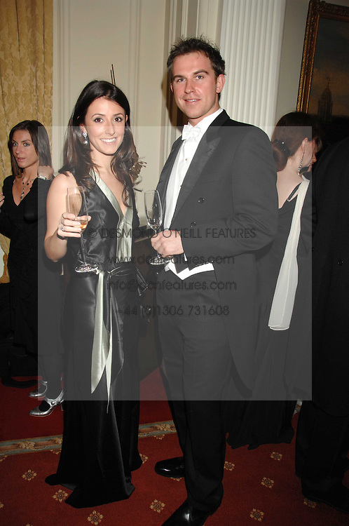 KATIE FOSTER and JONATHAN MARTIN at the 2008 Berkeley Dress Show at the Royal Hospital Chelsea, London on 3rd April 2008.<br /><br />NON EXCLUSIVE - WORLD RIGHTS