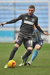 DANNY MAYOR BURY FC, Coventry City v Bury FC, Sky Bet League One, Ricoh Stadium, Saturday 13th Febuary 2016 Score 6-0. Photo:Mike Capps