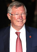 November 9, 2015 - Sir Alex Ferguson attending The World Premiere of 'Ronaldo' at Vue West End, Leicester Square in London, UK.<br /> ©Exclusivepix Media