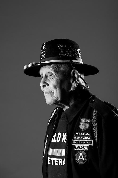 Francisco Perez<br /> Navy<br /> E-3<br /> SAVN<br /> 1944 - 1946<br /> WWII (Europe)<br /> <br /> <br /> Veterans Portrait Project<br /> San Antonio, TX
