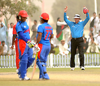 ICC World Twenty20 Qualifier UAE 2012.Afghanistan take on Bermuda at the Global Cricket Academy, Dubai, in their 7th game of the tournament..Pic shows.