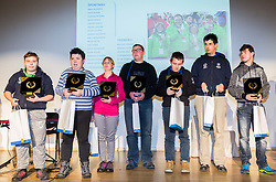 Special olympics during Slovenian Disabled Sports personality of the year 2017 event, on December 6, 2017 in Austria Trend Hotel, Ljubljana, Slovenia. Photo by Vid Ponikvar / Sportida