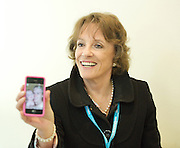 """Conservative Party Conference, ICC, Birmingham, Great Britain <br /> Day 1<br /> 7th October 2012 <br /> <br /> Esther Ranzen <br /> speaking at fringe meeting <br /> WRVS """"Do older people have a voice in Today's Britain""""<br /> <br /> <br /> <br /> Photograph by Elliott Franks<br /> <br /> Tel 07802 537 220 <br /> elliott@elliottfranks.com<br /> <br /> ©2012 Elliott Franks<br /> Agency space rates apply"""