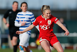 Millie Farrow of Bristol City Women - Mandatory byline: Rogan Thomson/JMP - 14/02/2016 - FOOTBALL - Stoke Gifford Stadium - Bristol, England - Bristol City Women v Queens Park Rangers Ladies - SSE Women's FA Cup Third Round Proper.