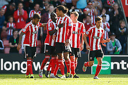 Goal, Southampton's Sadio Mane scores, Southampton 3-0 Swansea City - Mandatory by-line: Jason Brown/JMP - 07966 386802 - 26/09/2015 - FOOTBALL - Southampton, St Mary's Stadium - Southampton v Swansea City - Barclays Premier League