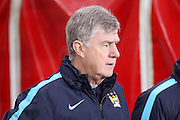 Manchester City Assistant Manager Brian Kidd during the Barclays Premier League match between Sunderland and Manchester City at the Stadium Of Light, Sunderland, England on 2 February 2016. Photo by Simon Davies.