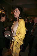 Marie Helvin, THE CHRISTMAS PARTY CELEBRATING THE 225TH ANNIVERSARY OF ASPREY. 167 NEW BOND ST. LONDON W1. 7 DECEMBER 2006. ONE TIME USE ONLY - DO NOT ARCHIVE  © Copyright Photograph by Dafydd Jones 248 CLAPHAM PARK RD. LONDON SW90PZ.  Tel 020 7733 0108 www.dafjones.com