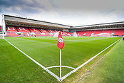 A general view of Ashton Gate before the EFL Sky Bet Championship match between Bristol City and Leeds United at Ashton Gate, Bristol, England on 4 August 2019.