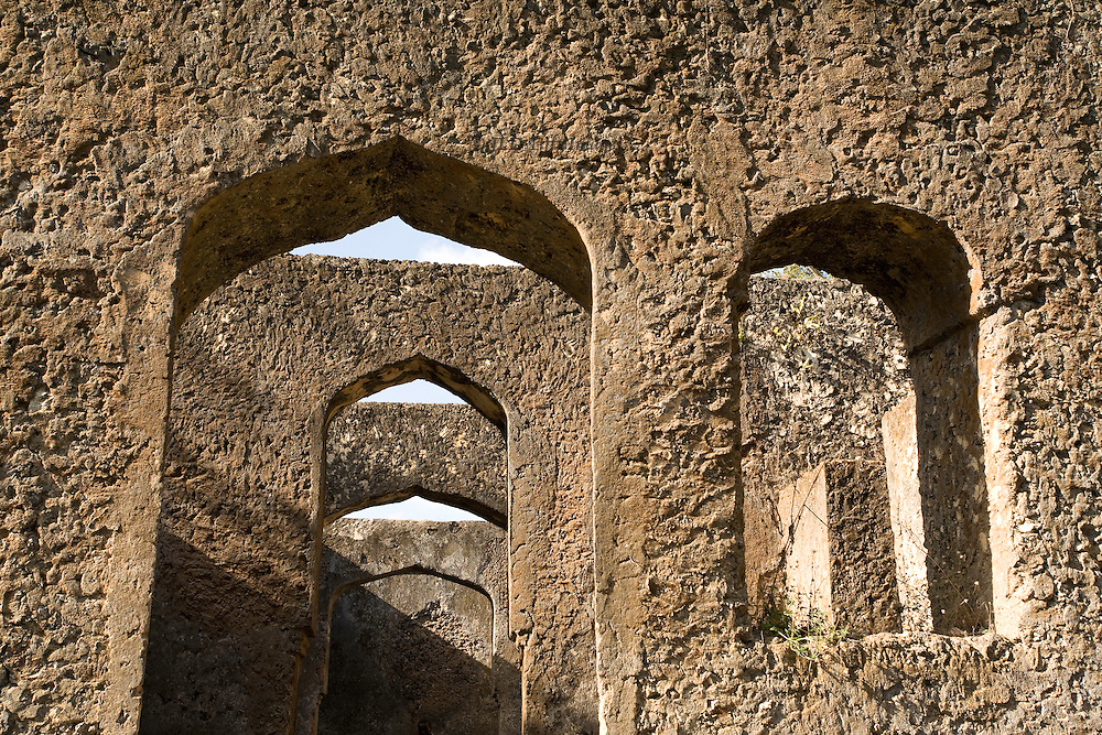Archways of Dunga Palace