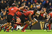 James Ritchie on the ball during the Guinness Pro 14 2018_19 match between Edinburgh Rugby and Southern Kings at BT Murrayfield Stadium, Edinburgh, Scotland on 5 January 2019.