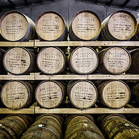 Barrels of Sullivan's Cove whisky at Tasmania Distillery in Hobart, Tasmania, August 25, 2015. Gary He/DRAMBOX MEDIA LIBRARY