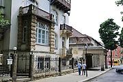 ehemliges Kurhotel, Weißer Hirsch, Dresden, Sachsen, Deutschland.|.spa hotel, Weisser Hirsch, Dresden, Germany