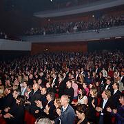 Premiere Songfestival in Concert, .zaal, publiek, toeschouwers