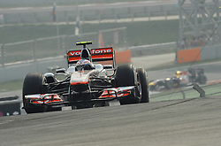 29.10.2011, Jaypee-Circuit, Noida, IND, F1, Grosser Preis von Indien, Noida, im BildJenson Button (GBR),  McLaren F1 Team  // during the Formula One Championships 2011 Large price of India held at the Jaypee-Circui 2011-10-29  EXPA Pictures © 2011, PhotoCredit: EXPA/ nph/  Dieter Mathis       ****** out of GER / CRO  / BEL ******