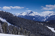 Mount of the Holy Cross From Vail Ski Area, Vail, Colorado