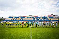 Players of NK Domzale and NK Celje during football match between NK Celje and NK Domžale in 27th Round of Prva Liga Telekom Slovenije 2016/17, on April 1, 2017 in Arena Petrol, Celje, Slovenia. Photo by Ziga Zupan / Sportida