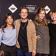 NLD/Amsterdam/20170119 - Premiere Brussel, Nadja Hupscher, Matthijs van de Sande Bakhuyzen