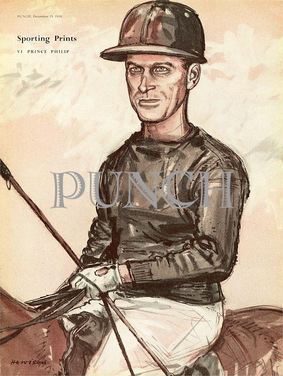 Sporting Prints. VI. Prince Philip