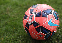 The FA Cup match ball - Photo mandatory by-line: Robbie Stephenson/JMP - Mobile: 07966 386802 - 14/02/2015 - SPORT - Football - London - Selhurst Park - Crystal Palace v Liverpool - FA Cup - Fifth Round