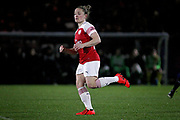 Arsenal midfielder Kim Little (10) during the FA Women's Super League match between Arsenal Women and Yeovil Town Women at Meadow Park, Borehamwood, United Kingdom on 20 February 2019.