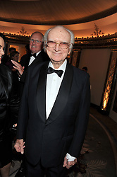 SIR PETER O'SULLEVAN at the 21st Cartier Racing Awards held at The Dorchester, Park Lane, London on 15th November 2011.