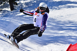 World Cup Banked Slalom, ROUNDY Nicole, USA at the 2016 IPC Snowboard Europa Cup Finals and World Cup