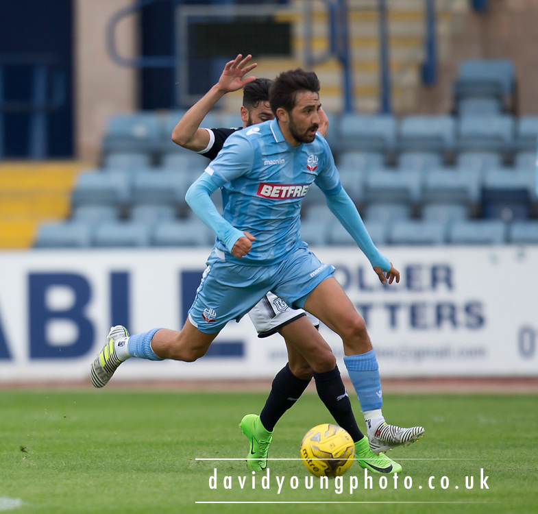 Bolton Wanderers' Jem Karacan - Dundee v Bolton Wanderers pre-seson friendly at Dens Park, Dundee, Photo: David Young<br /> <br />  - © David Young - www.davidyoungphoto.co.uk - email: davidyoungphoto@gmail.com