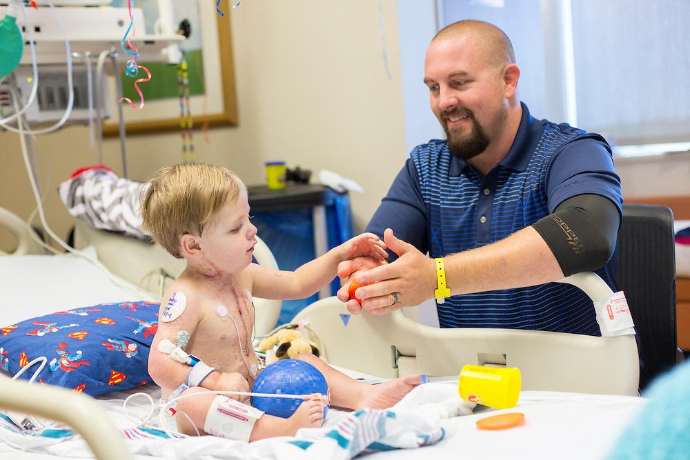 LITTLE ROCK, ARKANSAS:  Children around Arkansas Children's Hospital<br /> Photography by Wesley Hitt