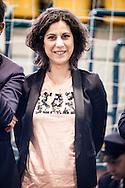 Melfi, Basilicata, Italia, 21/05/2016<br /> La deputata del Movimento 5 Stelle, Mirella Liuzzi<br /> <br /> Melfi, Basilicata, Italia, 21/05/2016<br /> The member of Parliament, Mirella Liuzzi (Five Star Movement).
