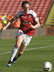 February 23, 2019 - Sheffield, England, United Kingdom - Lisa Evans (Arsenal) during the  FA Women's Continental League Cup Final  between Arsenal and Manchester City Women at the Bramall Lane Football Ground, Sheffield United FC Sheffield, Saturday 23rd February. (Credit Image: © Action Foto Sport/NurPhoto via ZUMA Press)